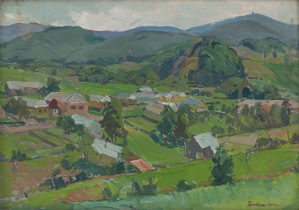 Ernest Rákosi – Partizánska obec Zlatá Baňa