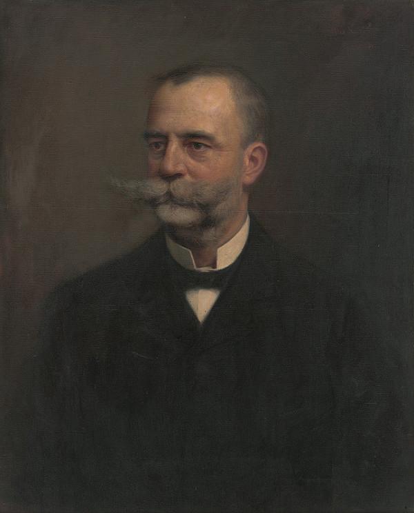 Maximilián Kurth - Podobizeň muža s fúzmi