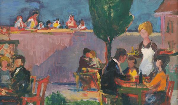 Juraj Kresila – Večer v letnej záhrade