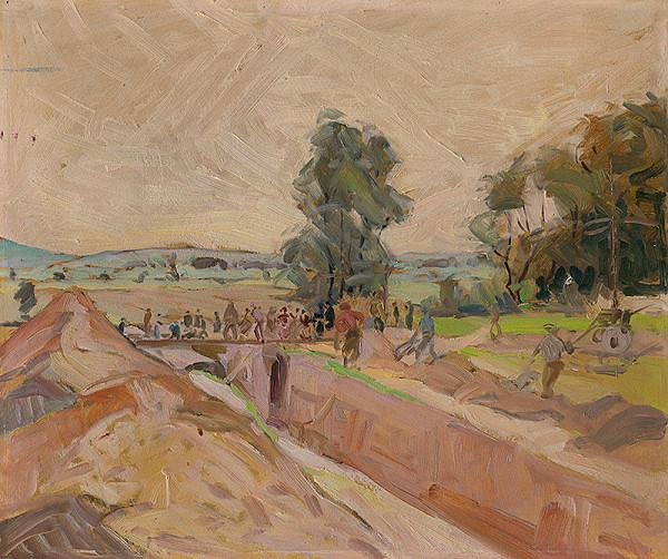Ernest Rákosi - Stavba kanalizácie