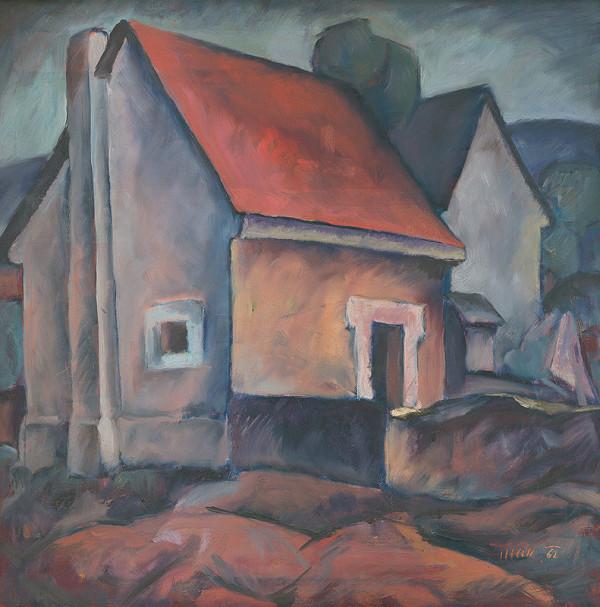 Ján Hák – Dom s červenou strechou
