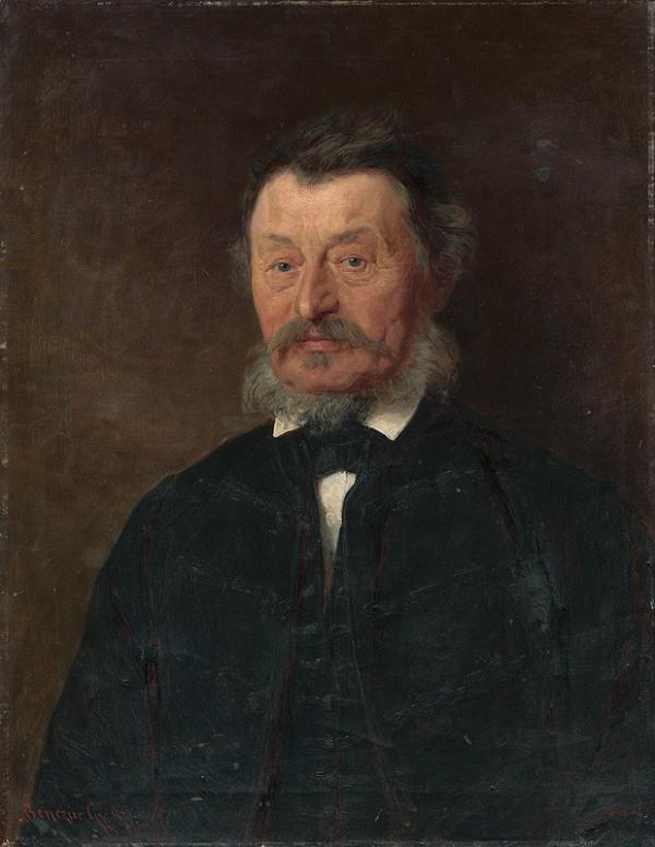 Gyula Benczúr – Podobizeň Andreja Vandráka