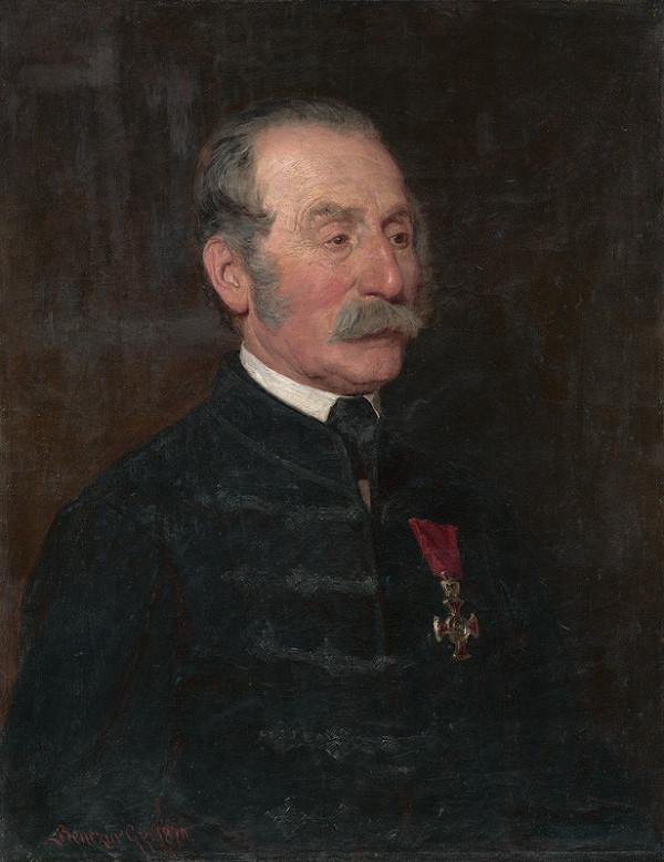 Gyula Benczúr – Podobizeň hodnostára