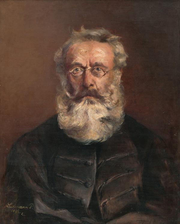 Paula Ludmannová – Podobizeň muža so sivou bradou