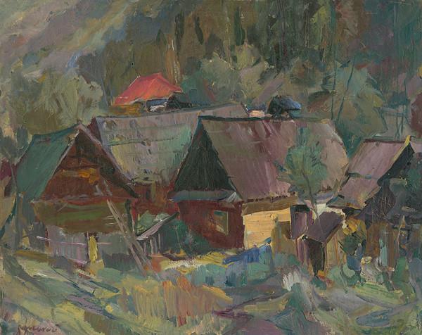 Vojtech Borecký – Staré domky