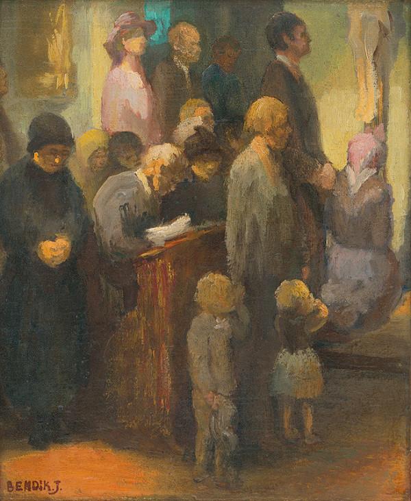 Jozef Bendík – V kostole