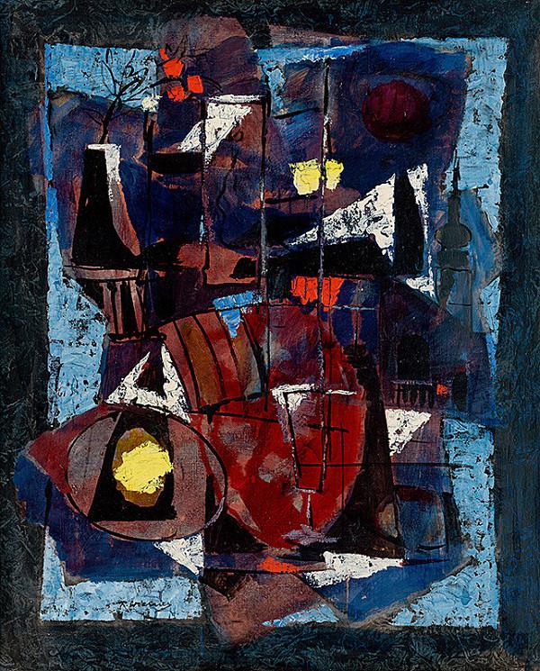Richard Wiesner - Pohľad z ateliéru