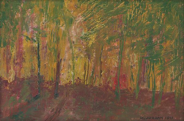 Mikuláš Jordán - V lese