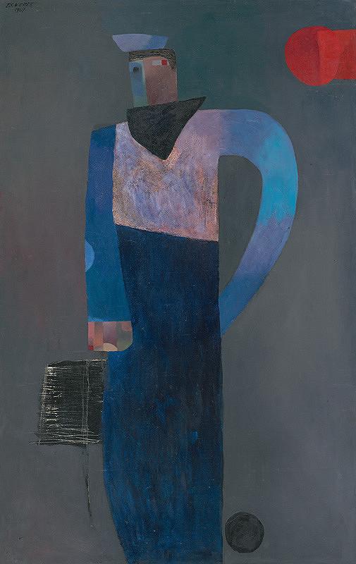 Alexander Eckerdt – Modrá figúra