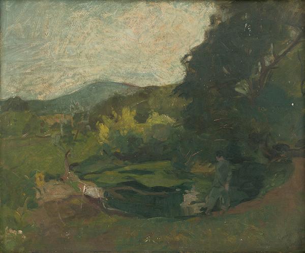 Ernest Rákosi – Krajina od Nitry