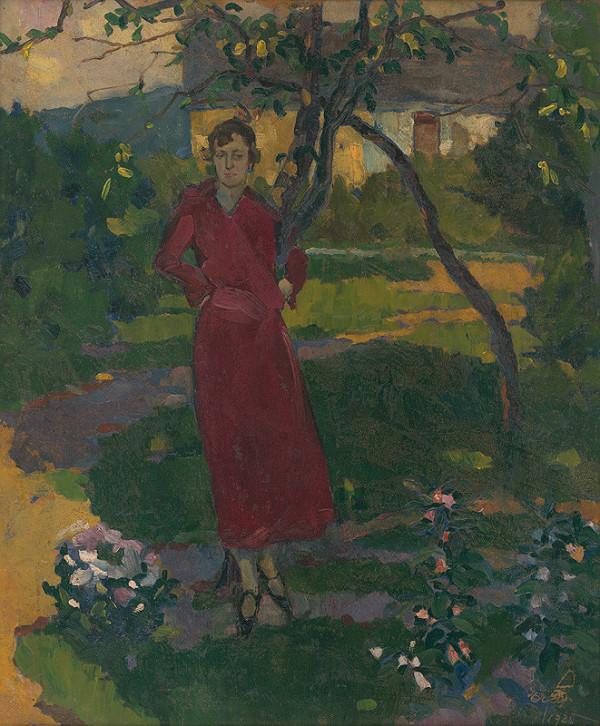 Vojtech Erdélyi – Umelcova sestra v záhrade