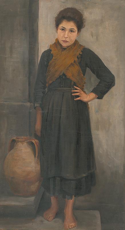 Maximilián Kurth - Dievča s džbánom