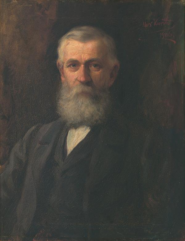 Maximilián Kurth – Podobizeň Andreja Kamenického