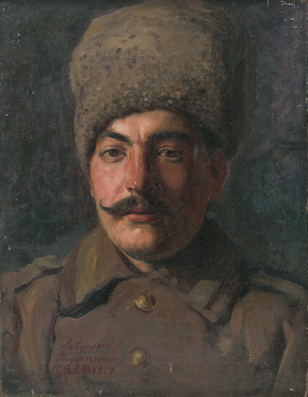 Peter Július Kern – Podobizeň ruského zajatca