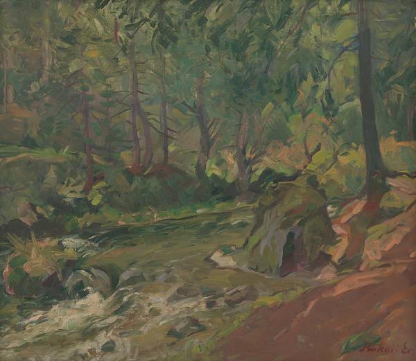 Ernest Rákosi – Lesný potok