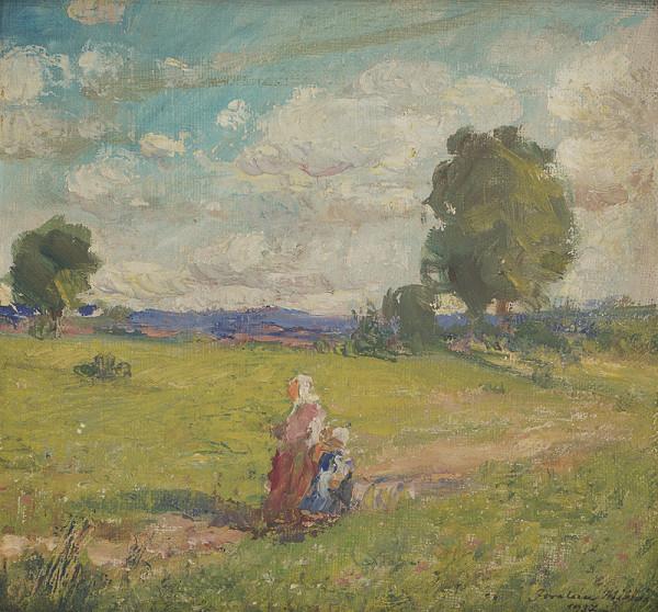 Mikuláš Jordán – Poľnou cestou