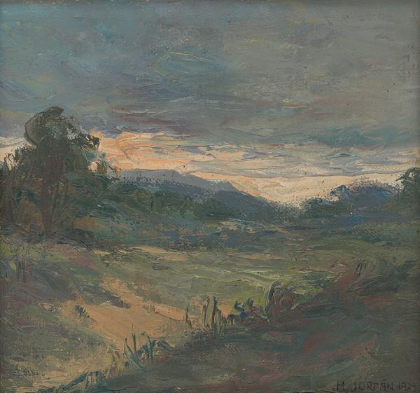 Mikuláš Jordán - Západ slnka