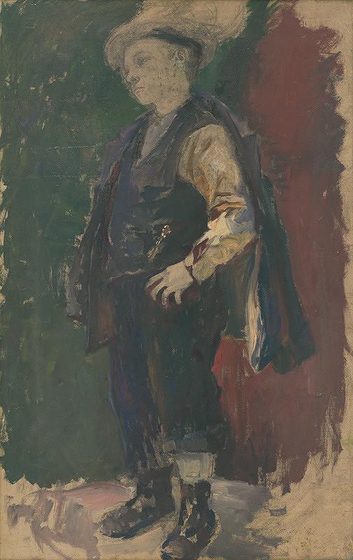 Andor Borúth – Štúdia chlapca
