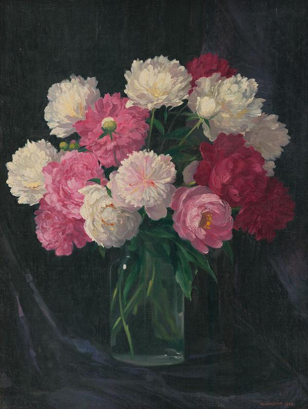 Mikuláš Jordán - Zátišie s kvetmi