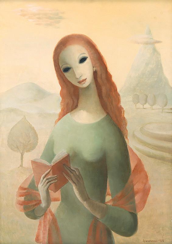 Edita Spannerová – Dievča s knihou