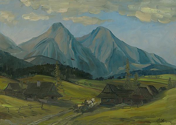 Ondrej Ivan - Pod Ždiarskymi vidlami