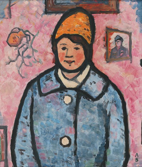 Anton Sučka – Dievča v modrom kabáte