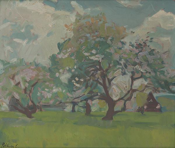 Ernest Rákosi - Kvitnúce jablone