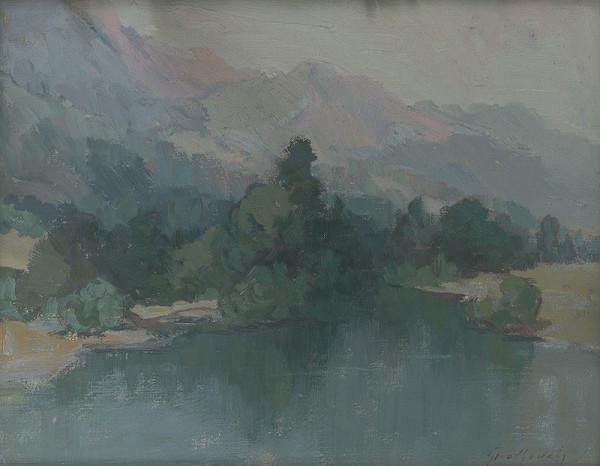 Ján Grotkovský – Krajina pod Tatrami