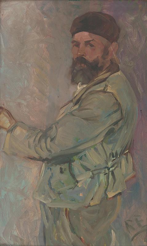 Ernest Rákosi – Vlastná podobizeň