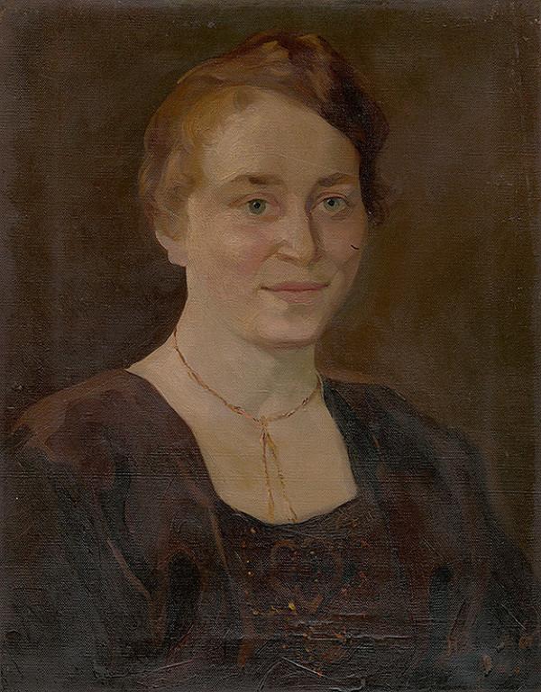 Ernest Rákosi - Podobizeň Anny Senderákovej