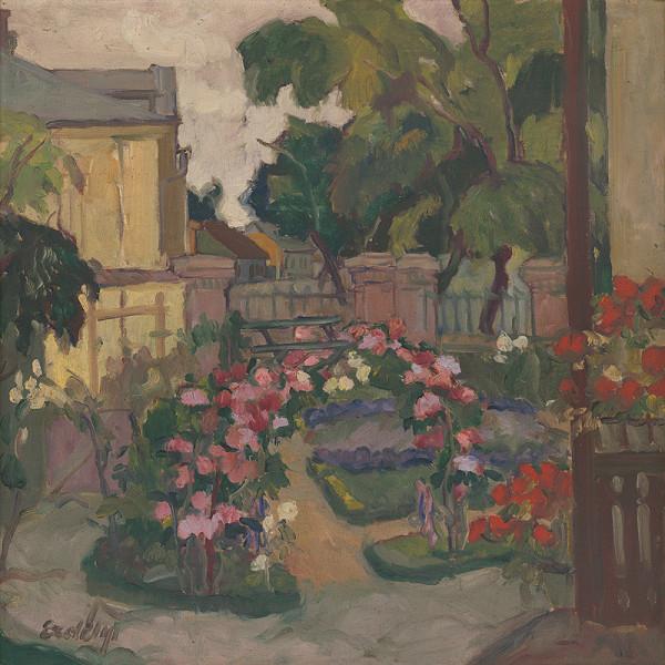 Vojtech Erdélyi – Na záhrade