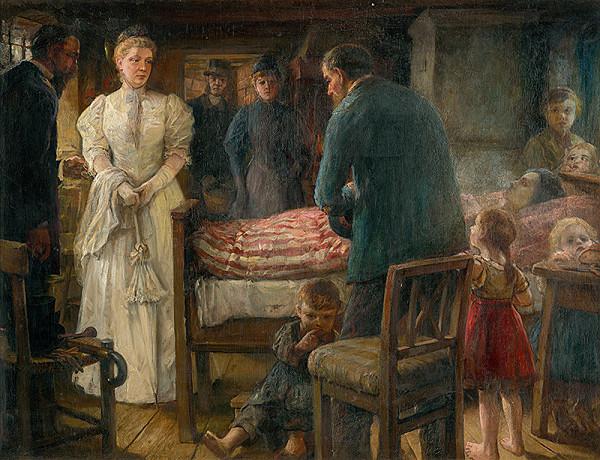 Maximilián Kurth – Návšteva chorej matky I.