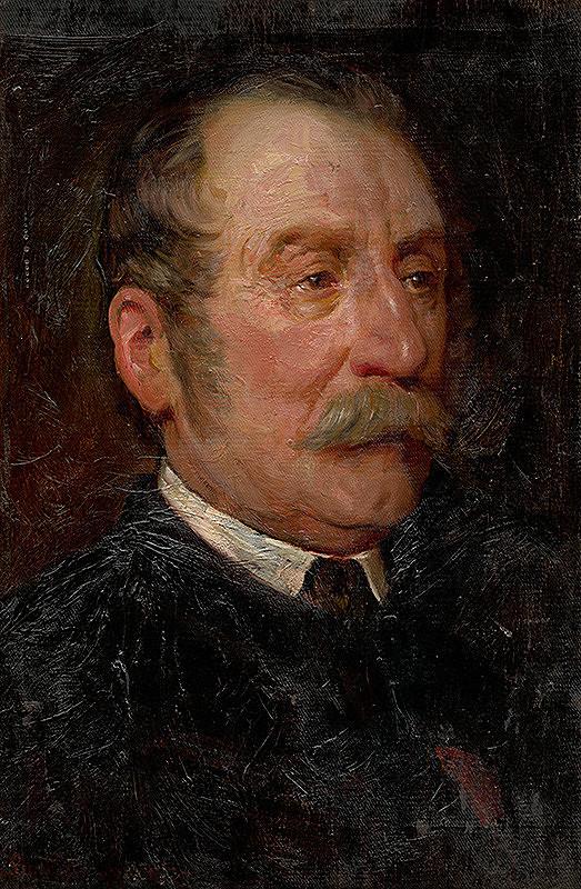 Gyula Benczúr – Štúdia k portrétu hodnostára