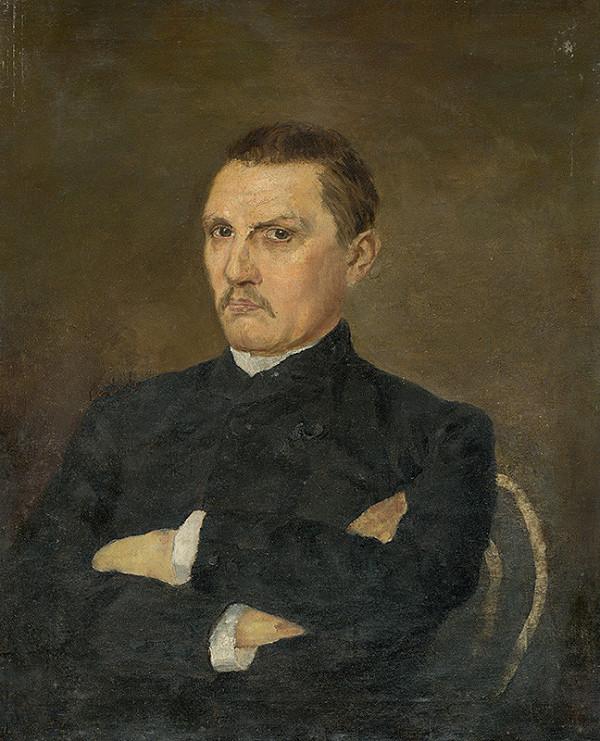 Franz Seraph von Lenbach – Portrét muža s fúzami