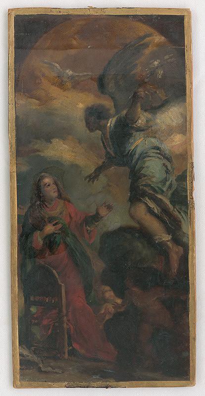 Maximilián Kurth – Štúdia k Zvestovaniu