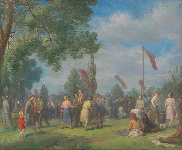 Jozef Bendík – Park mieru v Prešove