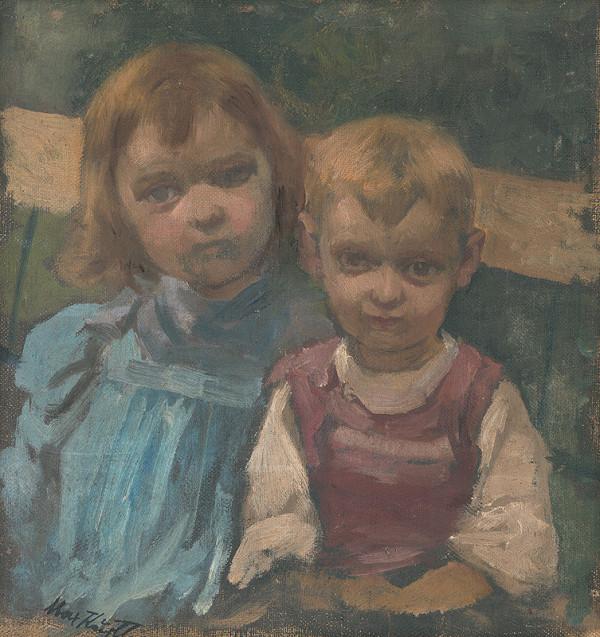 Maximilián Kurth – Umelcove deti Dóra a Janči