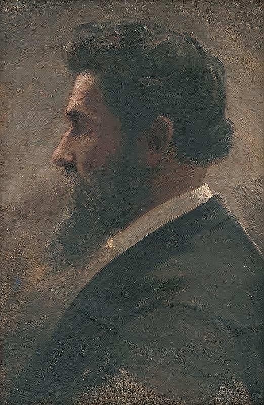 Maximilián Kurth - Podobizeň Dr.Heckenbauera
