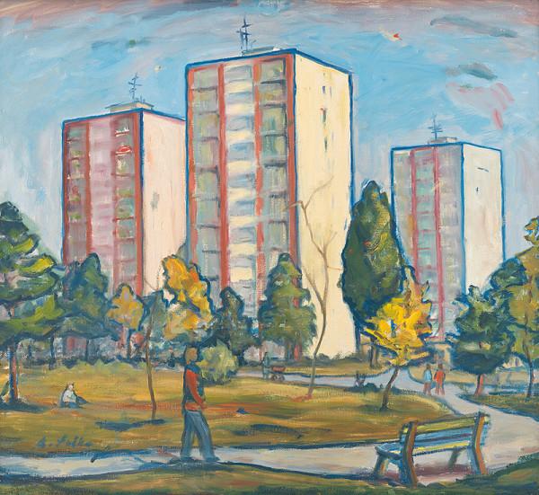 Anton Sučka – Jeseň na sídlisku