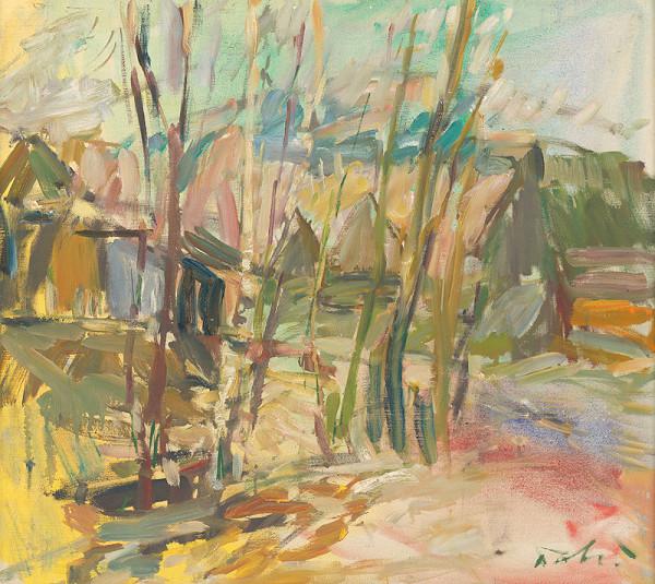 Andrej Doboš – Jarné stromy