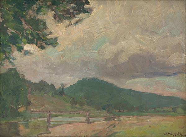 Ernest Rákosi - Krajina s mostom