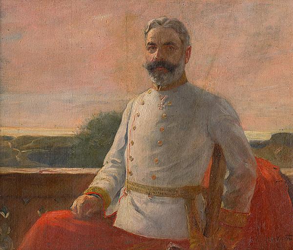 Maximilián Kurth – Portrét muža v uniforme
