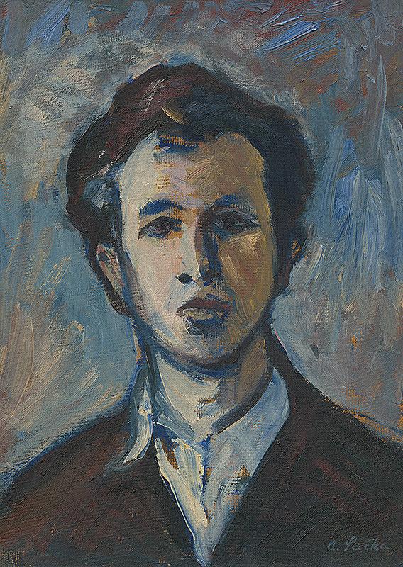 Anton Sučka – Autoportrét