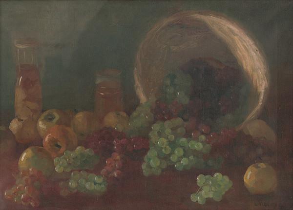 Ernest Rákosi – Zátišie s ovocím