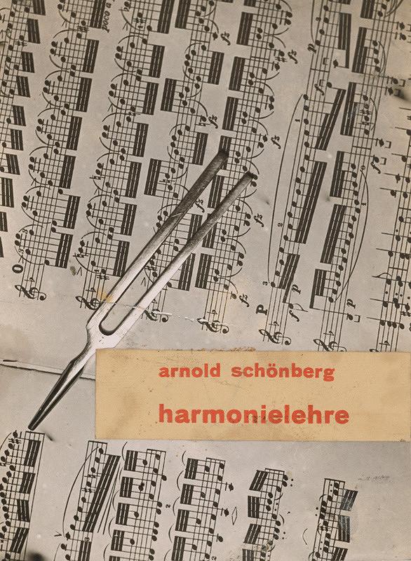 Ladislav Foltyn – Obálka knihy Harmonielehre Arnolda Schönberga.