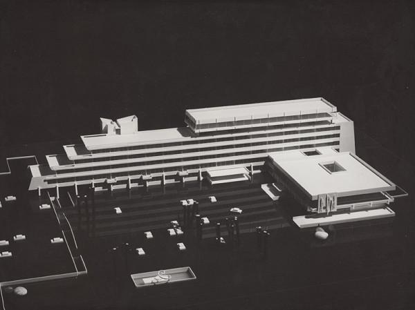 Rajmund Müller – Zväz výrobných družstiev v Bratislave.  Model.