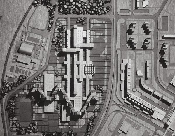 Rajmund Müller – Neznáma stavba. Model.