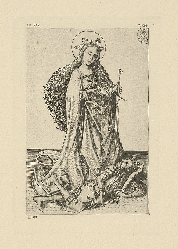 Majster E.S. - Svätá Katarína
