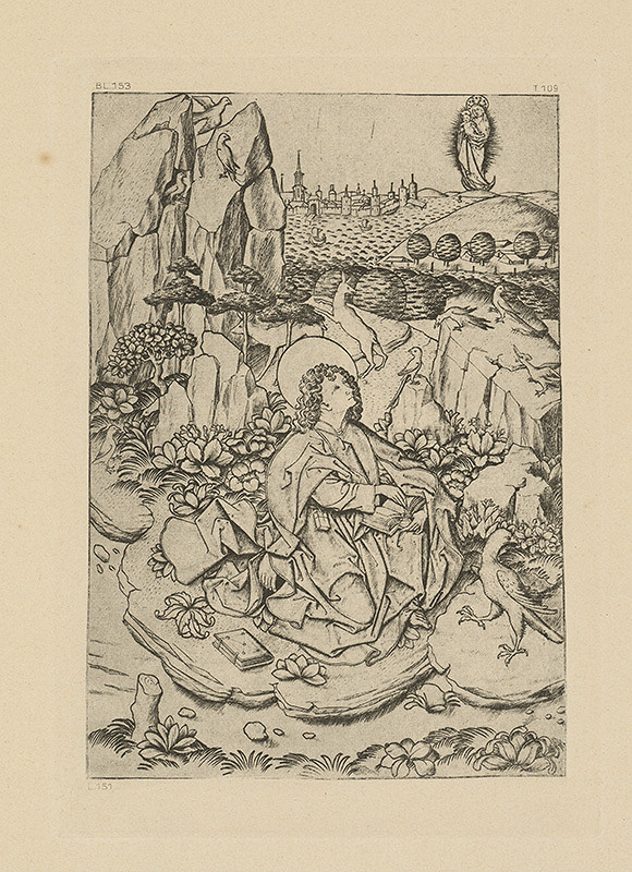 Majster E.S. – Svätý Ján na ostrove Pathmos