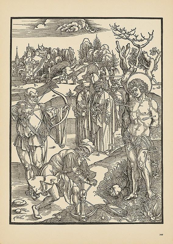 Albrecht Dürer - Svätý Šebestián